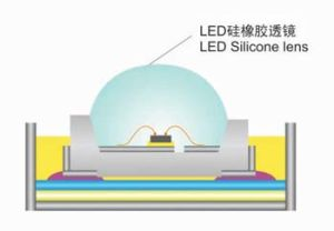 High Transparent Injection Molding Liquid Silicone Rubber for LED Lens