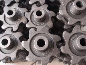 Aluminum Alloy Die Casting Gear Wheel Parts pictures & photos