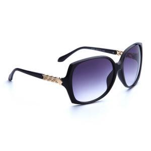 Classic New Coming Design Plastic Female Injection Sunglasses (5028)