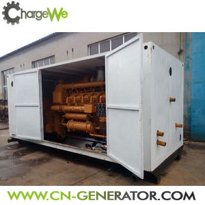 AC Three Phase Output Type 20kw ~600kw Container Type Natural Gas Generator pictures & photos