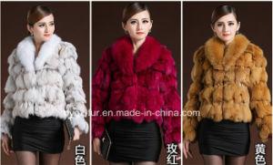 Wholesale Short Style Real Fox Fur Coat Qx-C11 pictures & photos