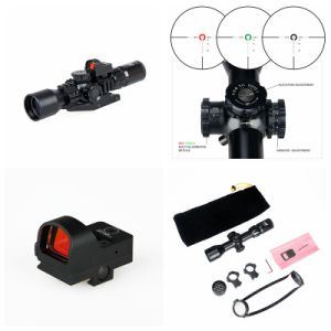 3-9X40firf Rifle Scope Mini Red DOT Sight pictures & photos