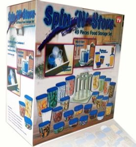 Spin Around Organizer 49 PC Set Spin N Store (TV209) pictures & photos