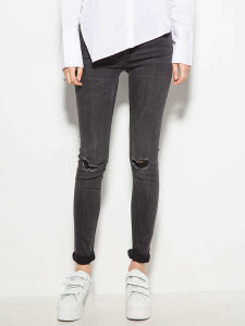 2017 Women Denim Skinny Jeans pictures & photos