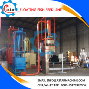 300-400kg Per Hour Floating Fish Feed Production Line pictures & photos