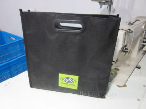 Carrier PP Non Woven Tote Shopping Bag with Die-Cut Handles (hbnb-536) pictures & photos