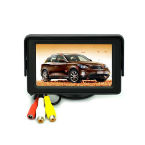 4inch CCTV Monitor with 2 AV Input, 16: 9 Screen for CCTV Camera pictures & photos