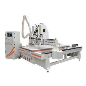 1325 Two Spindle CNC Router with Rotary Device pictures & photos