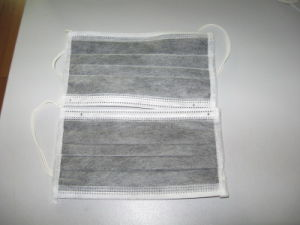 Disposable Activated Carbon Mask with 99% Bfe pictures & photos