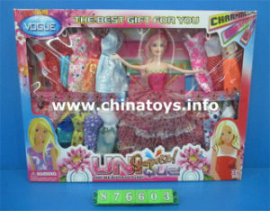 "Beautiful Plastic Girl Toy 11.5""Doll Novelty Toys (854817) pictures & photos"