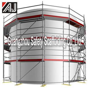 Easy Install All-Round Steel Ringlock Scaffolding System, Guangzhou Manufacturer pictures & photos