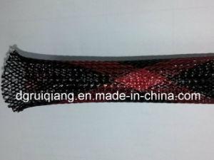 Multi-Colored Pet Plastic Expandable Woven Mesh Sleeves