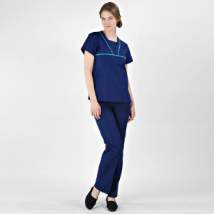 China Factory Price Wholesale Hospital Medical Wear Clothing Nurse Uniform pictures & photos