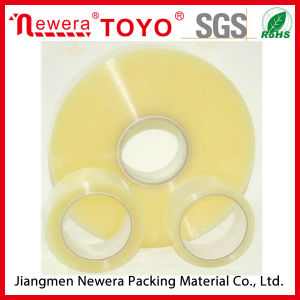 Heavy Packing 50 Micron Transparent Automatic BOPP Tape Machine Roll pictures & photos