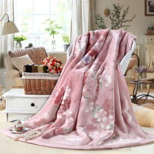 Winter Gift Raschel Blanket pictures & photos