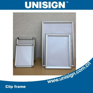 Unisign Hot Selling Aluminium Clip Frame with Competitive Price (A1, A2, A3, A4) pictures & photos