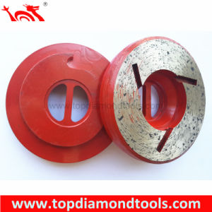 Snail Lock Edge Shaping Wheels for Stone pictures & photos