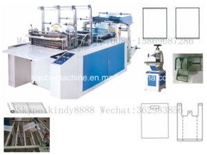 Gfq-600 Heat Sealing Cold Cutting T-Shirt Bag Making Machine pictures & photos