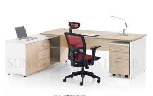 Simple Design Modern Executive Desk with Moveable Drawer (SZ-OD187) pictures & photos