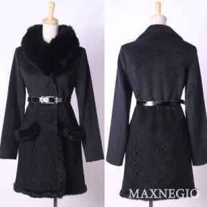 2014 Latest Fashion Ladies′ Overcoat (1-25516)