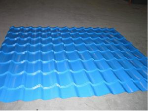 Glazed Tile Forming Machine for Making Roofing Tile pictures & photos