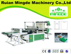 Full Automatic High Speed Plastic Carry Bag Making Machine pictures & photos