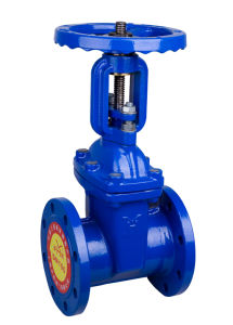 High Quality Cast Iron Resilient Seated Flange Gate Valve