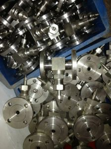 Stainless Steel Flanged Needle Valve (J14W-3000PSI) pictures & photos
