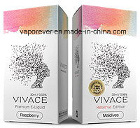 Korea Vivace Raspberry Maldives Rave Katrina Flavor Eliquid with Free Samples Free Shipping 10ml E-Liquid E Juice with OEM Service Justfog pictures & photos