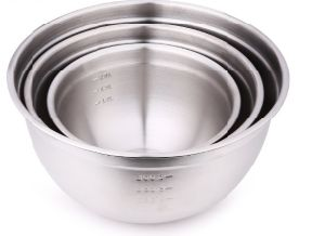 Thicken Stainless Steel Mixing Bowl Salad Bowl (SS-002)
