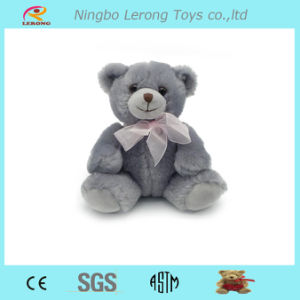 Super Soft and Stuffed Grey Plush Teddy Bear pictures & photos