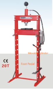 20ton Hydraulic/Pneumatic Shop Press with Foot Pedal pictures & photos