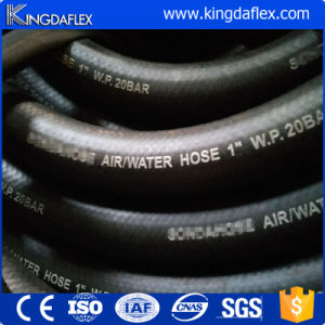 Two Textile Reinforced Smooth Cover Rubber Water Air Hose 20bar pictures & photos