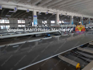 Wood Plastic Foam Board Extrusion Line/WPC Machine/Plastic Machinery pictures & photos