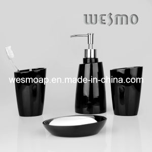 Black Polyresin Bath Accessory/Bathroom Products (WBP0276B) pictures & photos