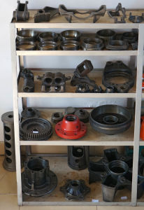 Auto Parts of Cast Iron and Cast Steel