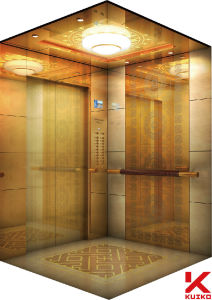 Hotel Elevator with Decorated Marble Floor pictures & photos