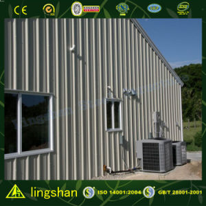 SGS Approved Low Cost Steel Prefabricated Building for Workshop (L-S-47) pictures & photos