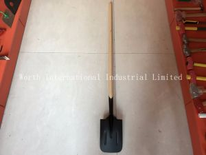 Long Wooden Handle Shovel Posthole Digger pictures & photos