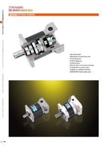 Zde/Zdf/Zds/Zdwf High Precision Planetary Gearbox (Spur) pictures & photos