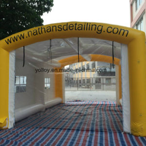 Temporary Painting Garage Inflatable Spray Booth pictures & photos