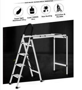 2 in 1 Aluminium Multi-Purpose Ladder Clothes Drying Rack pictures & photos