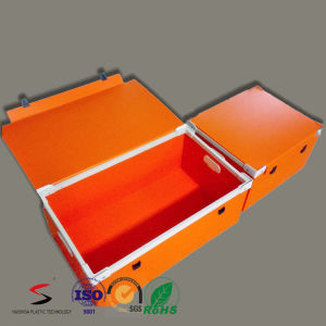 Recyclable Foldable Plastic Storage PP Corrugated Box pictures & photos