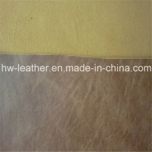 Top Sell PU Leather for Garment (HW-1282) pictures & photos
