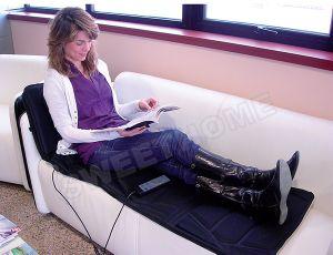 Electric Vibration Heat Shiatsu Bed Massage Mattress pictures & photos