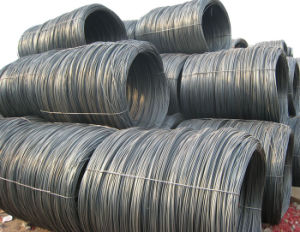 Non-Alloy Construction Material Low Carbon Steell Wire Rod pictures & photos