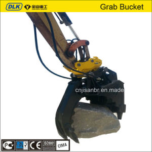 Excavator Grapple Bucket for 2-3 Tons Excavator pictures & photos