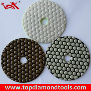 Flexible Dry Polishing Pad with Velcro Backing pictures & photos