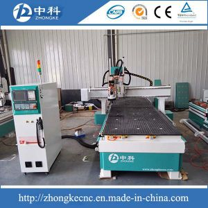 Wood Doors Auto Tool Changing Drilling CNC Router pictures & photos