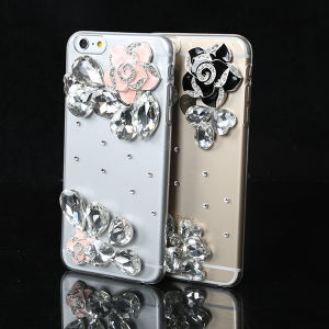Shinning Diamond Case Rhinestone Crystal Phone Cover for HTC M9/M8/M7/E8 Bling Case
